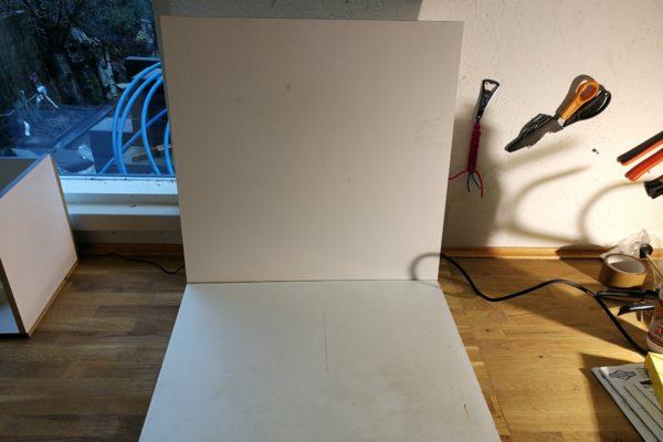 2 plader som alternativ til fotokasse