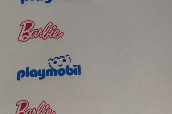 Logoer på almindeligt printerpapir